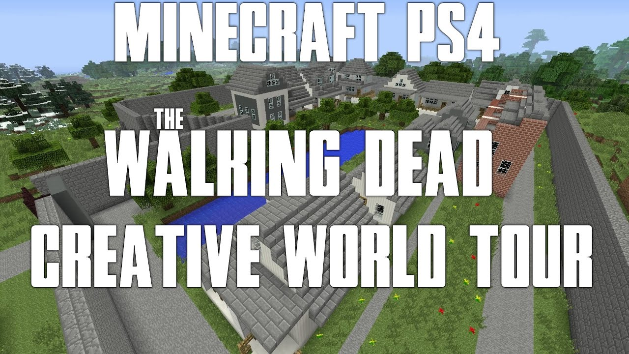 Minecraft ps4the walking dead creative world tour farmwoodbury minecraft ps4the walking dead creative world tour farmwoodburyprisonterminusalexandria youtube sciox Gallery