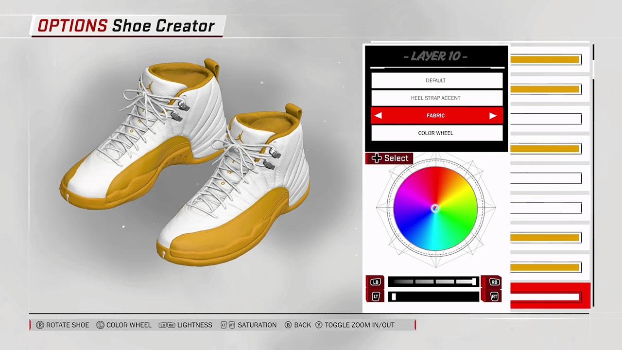 7ccceb41ef61 NBA 2K18 Shoe Creator - Air Jordan 12 PE