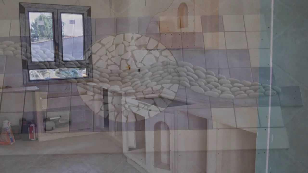 fasi costruzione cucina interamente in legno - youtube - Costruire Cucina