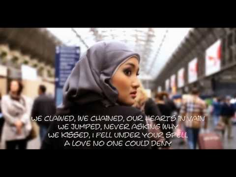 Wrecking Ball -  Fatin Shidqia (Lyrics Video)