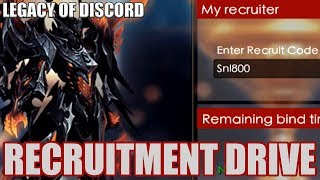 Legacy of Discord: Recruitment Drive Test