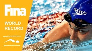 Mireia Belmonte | World Record Butterfly | 2014 FINA World Swimming Championships Doha