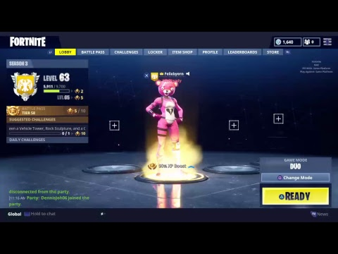 Kan jag vinna fortnite battle royale!? 87 wins! Battle pass 3