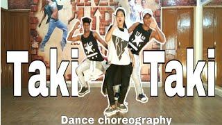 Taki Taki - DJ Sanak ft. Selena Gomze , Ozuna, Cardi B .. Dance Choreography by - Pawan Raj