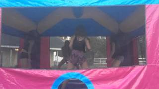 Morgan's 16th bounce house 2