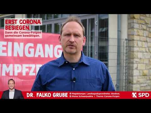 Erst Corona besiegen. Dann die Corona-Folgen gemeinsam bewältigen. - Dr. Falko Grube