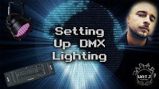 Setting Up DMX Lighting