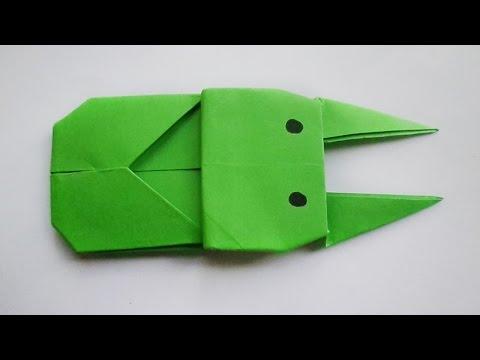 оригами жук, как сделать оригами жук // Origami Beetle