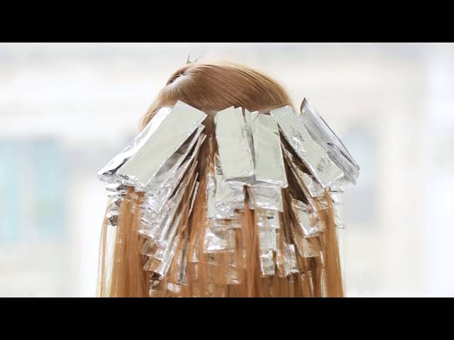 Cool Blonde Highlights- Champagne Ice Blonde Technique