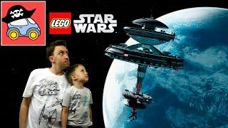 🌑 STAR WARS FORCE BUILDER. Игра Лего Звёздные Войны. Спасательная капсула дроидов. Жестянка