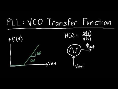 PLL: VCO Transfer Function