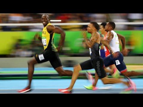 Usain Bolt Wins 100m at RIO Olympics 2016 Timing 9.81 Min ...