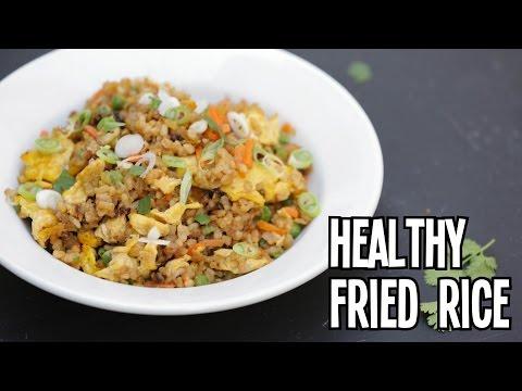 Healthy Fried Rice - Superhero Kitchen