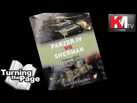 Panzer IV vs. Sherman - France 1944 by Steven J. Zaloga