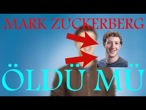 Mark Zuckerberg Öldü / Mark ÖLDÜ MÜ / #RipMarkZuckerberg