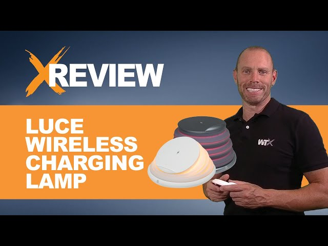WTX X Review: Luce Wireless Charing Lamp