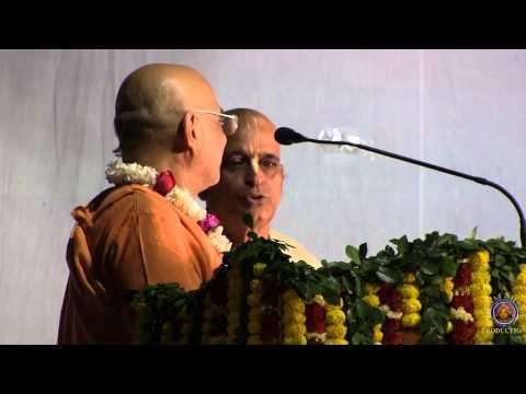 2013 Bhaktivedanta National School special ten year anniversary evening pandal program.