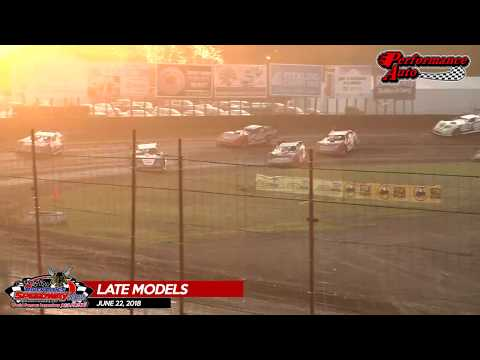 Performance Auto Late Models - River Cities Speedway - 06/22/18