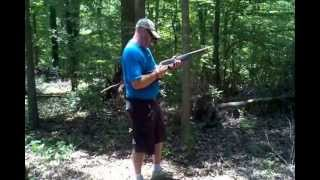 Shooting Homemade Black Powder with H&R 12 Gauge Survival Shotgun