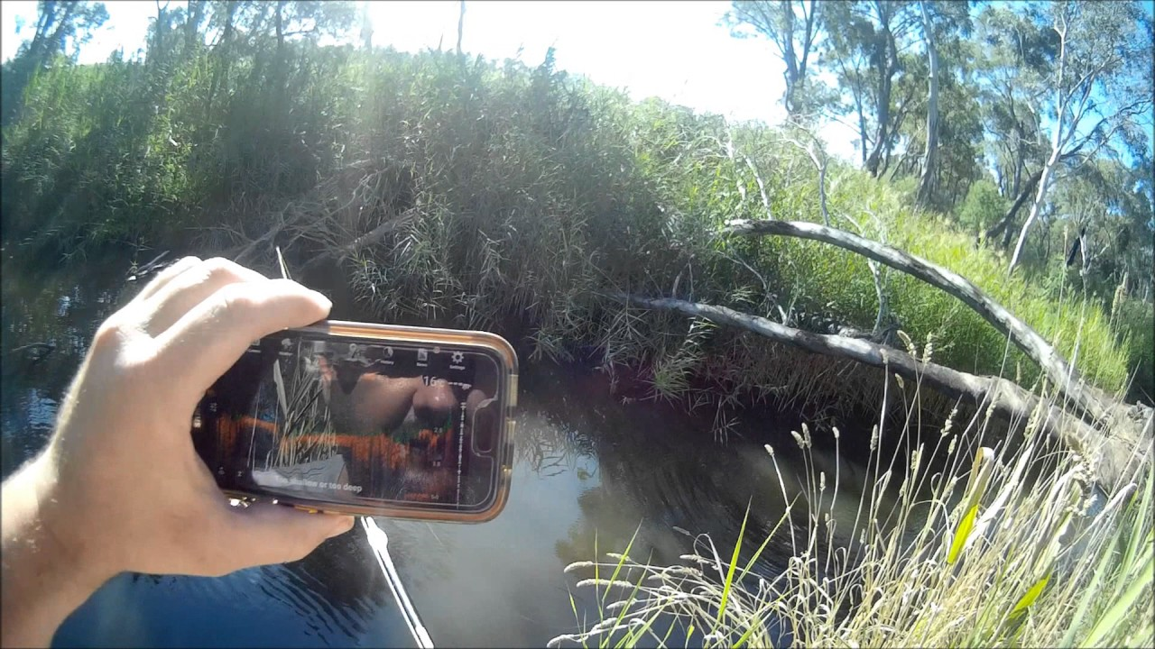 how to make a fish finder portable