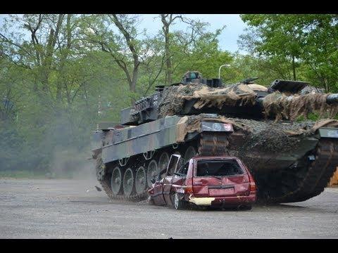 Leopard 2A6 destroyed