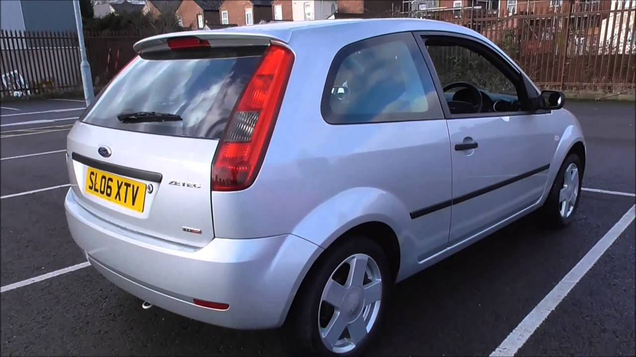 ford fiesta diesel hatchback 1 4 tdci zetec 3dr 2005 u106634 youtube. Black Bedroom Furniture Sets. Home Design Ideas