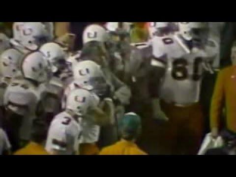 1984 Orange Bowl #5 Miami 10 1 #1 Nebraska 12 0