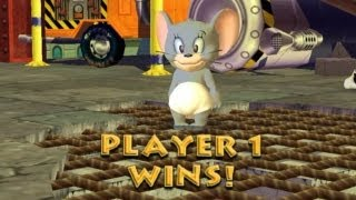 Tom & Jerry: War of the Whiskers - Gamecube Walkthrough HD 720P Part 4 - Nibbles (Dolphin 4)