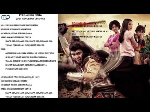 PERJUANGAN CINTA - WAFDA LUBIS (OST PANGERAN LUTUNG) Video Lyric