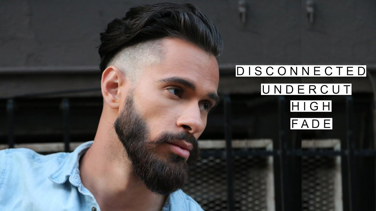 GQ Inspired Disconnected Undercut W High Fade Medium