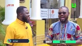 Guru on ATUU with Abeiku Santana