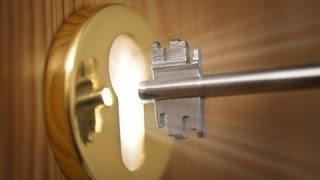 Как работает замок / A lock works