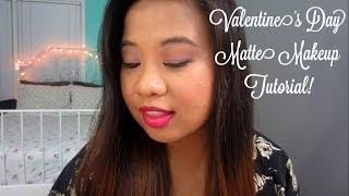 Valentine's Day Matte Makeup Tutorial! Thumbnail