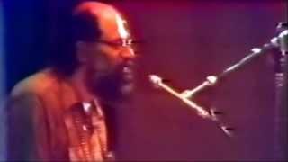 Allen Ginsberg reading