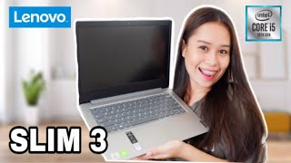 UNBOXING LENOVO IDEAPAD SLIM 3 | PERFECT FOR EDITING, WORK FROM HOME & ONLINE CLASS!