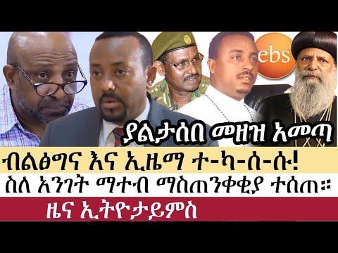 Ethiopia: ሰበር ዜና – የኢትዮታይምስ የዕለቱ ዜና | Daily Ethiopian News | ሰበር መረጃ | Abiy Ahmed Berhnau Nega