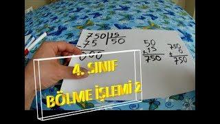 4  SINIF BÖLME İŞLEMİ 2