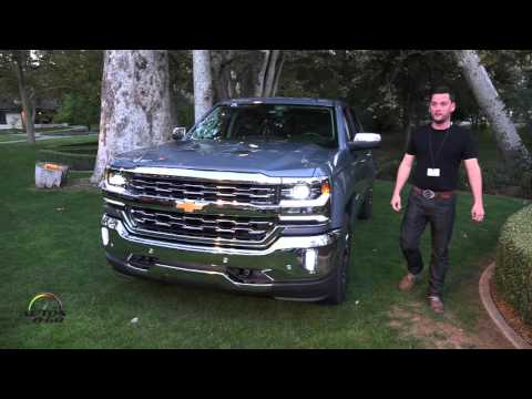 2016 Chevrolet Silverado presentation by Chief Designer Brian Izard