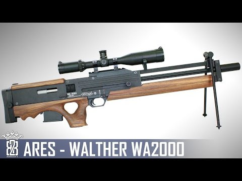 *Airsoft Review * Ares Walther WA2000 | English Subtitles - Deutsch