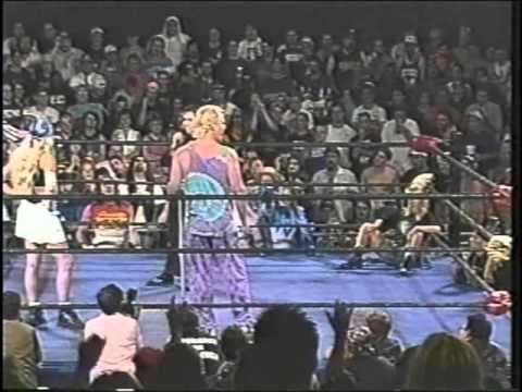 ECW Missy Hyatt canes Joel Gertner 1996