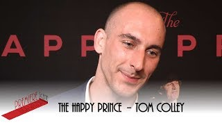 The Happy Prince – UK Premiere interviews -  Tom Colley