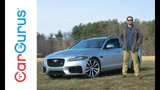 2018 Jaguar XF Sportbrake | CarGurus Test Drive Review