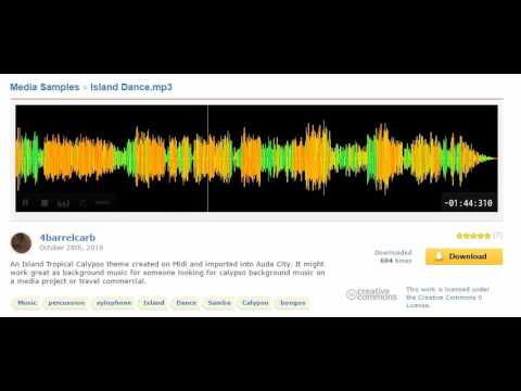 [Freesound]  Island Dance - Xylophone - Background Music - 4barrelcarb - CC0
