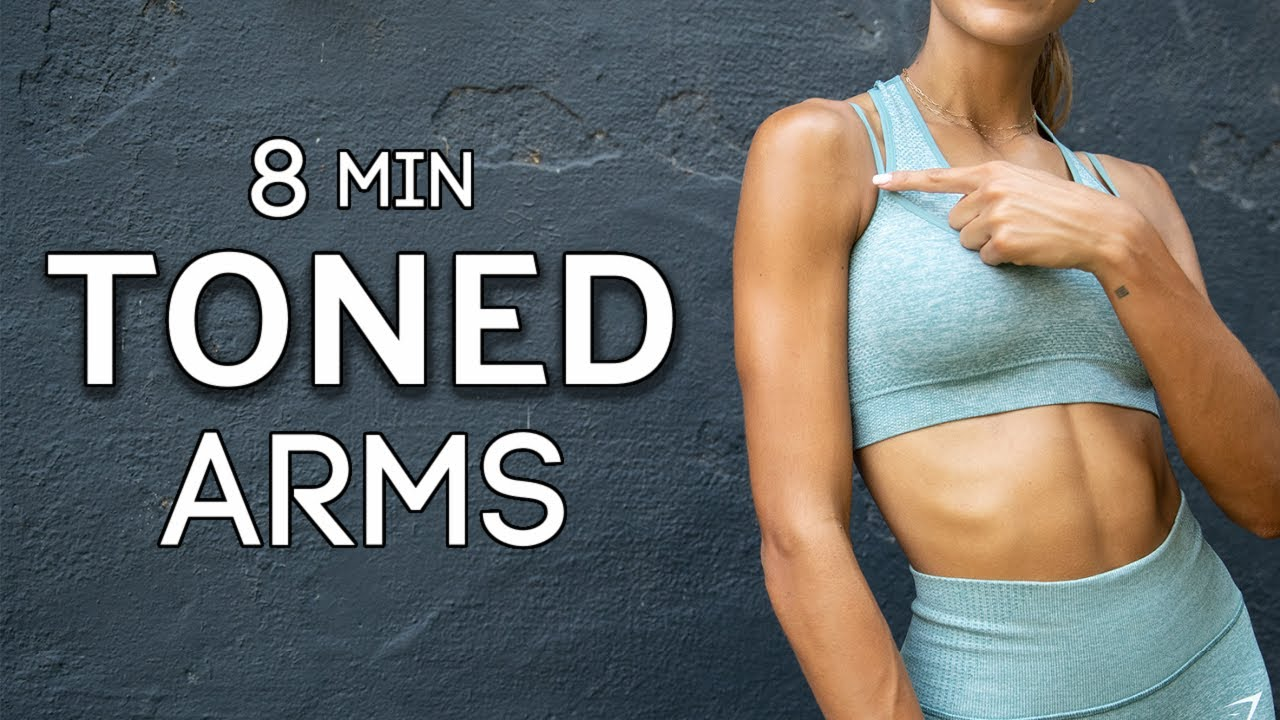 8 MIN Toned Arms Workout // Equipment Optional // Sami Clarke