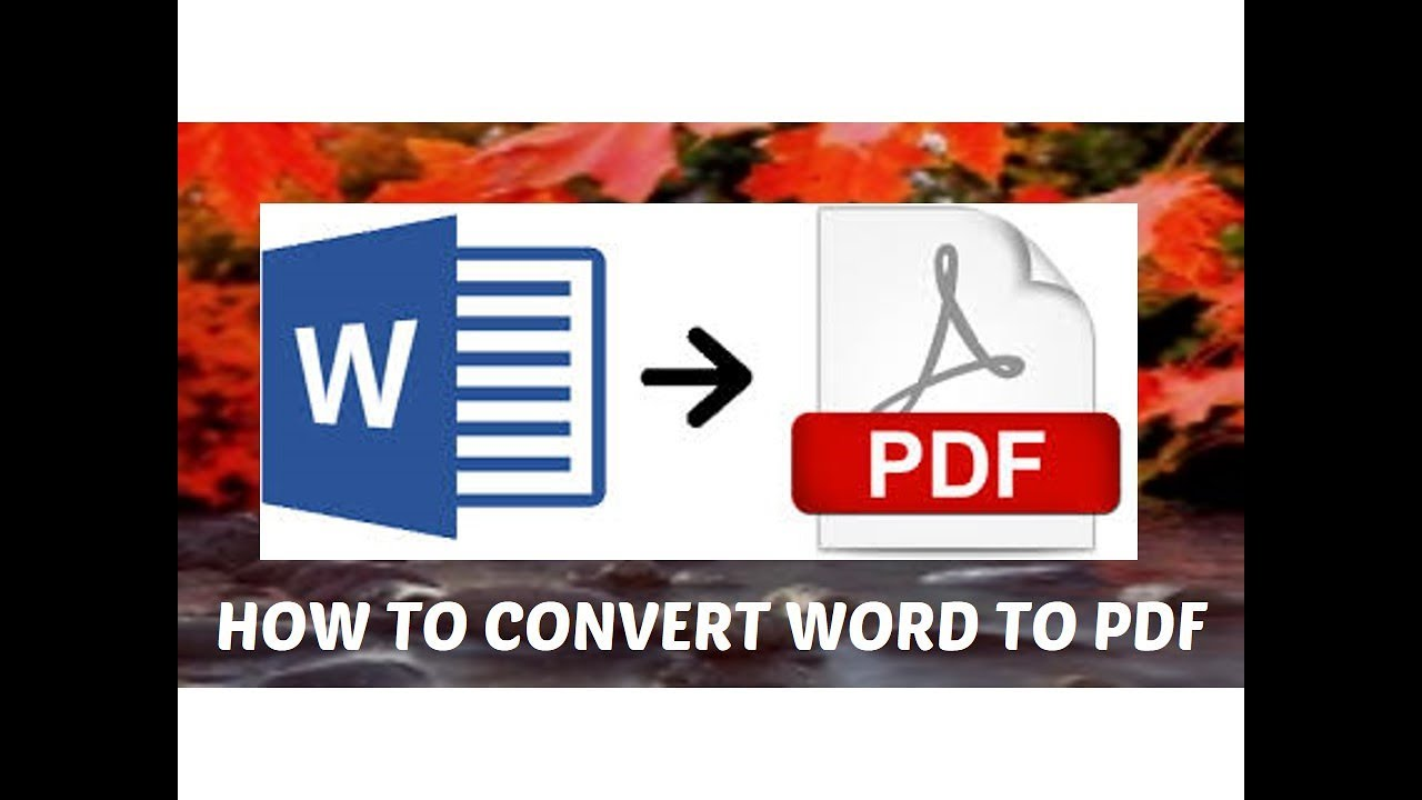 A tutorial on convert word to pdf online for free without software a tutorial on convert word to pdf online for free without software in 10 seconds freerunsca Images