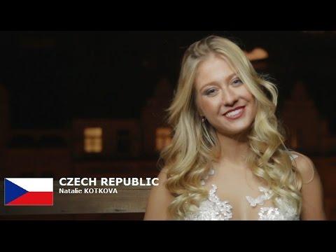 CZECH REPUBLIC - Natalie KOTKOVA- Contestant Introduction: Miss World 2016