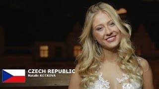 CZECH REPUBLIC - Natalie KOTKOVA- Contestant Introduction: Miss World 2016