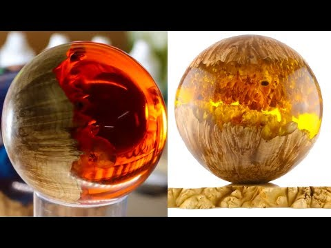 WOODWORKING PROJECTS I EPOXY RESIN SPHERE  COMPILATION