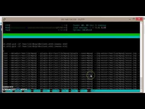 HLS Streaming Server panel demonstration on Debian jessie using ffmpeg