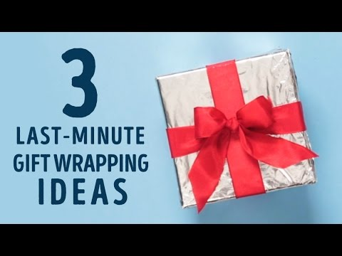 3 Last-minute Gift Wrapping Ideas That Will Save You Money L 5-MINUTE CRAFTS